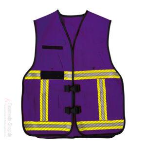 Funktionsweste Modell Bremen violett