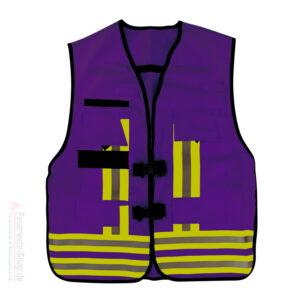 Funktions-Kennzeichnungs-Weste, violett gemäß EN 471 / EN 531