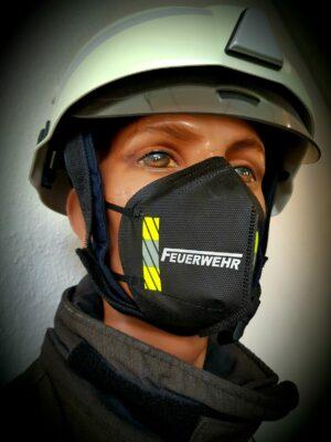 FFP 2 Maske Feuerwehr design