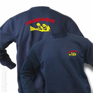 Feuerwehr Premium Pullover Firefighter IV
