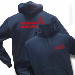 Das ultimative Feuerwehr Kapuzen-Sweatshirt im modernen Look für jede Feuerwehrfrau und jeden Feuerwehrmann!